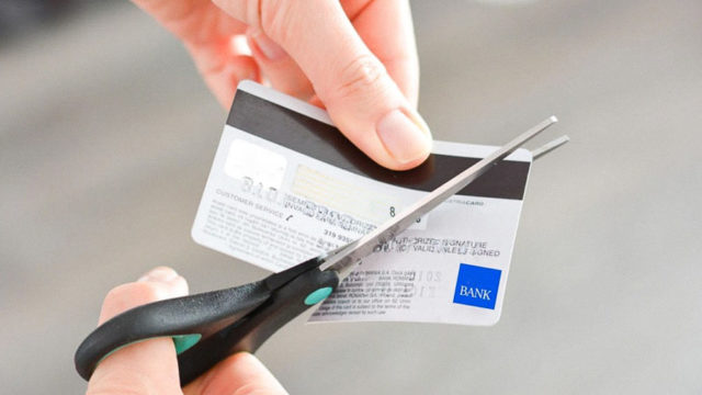 Why you can't cut and throw away bank cards